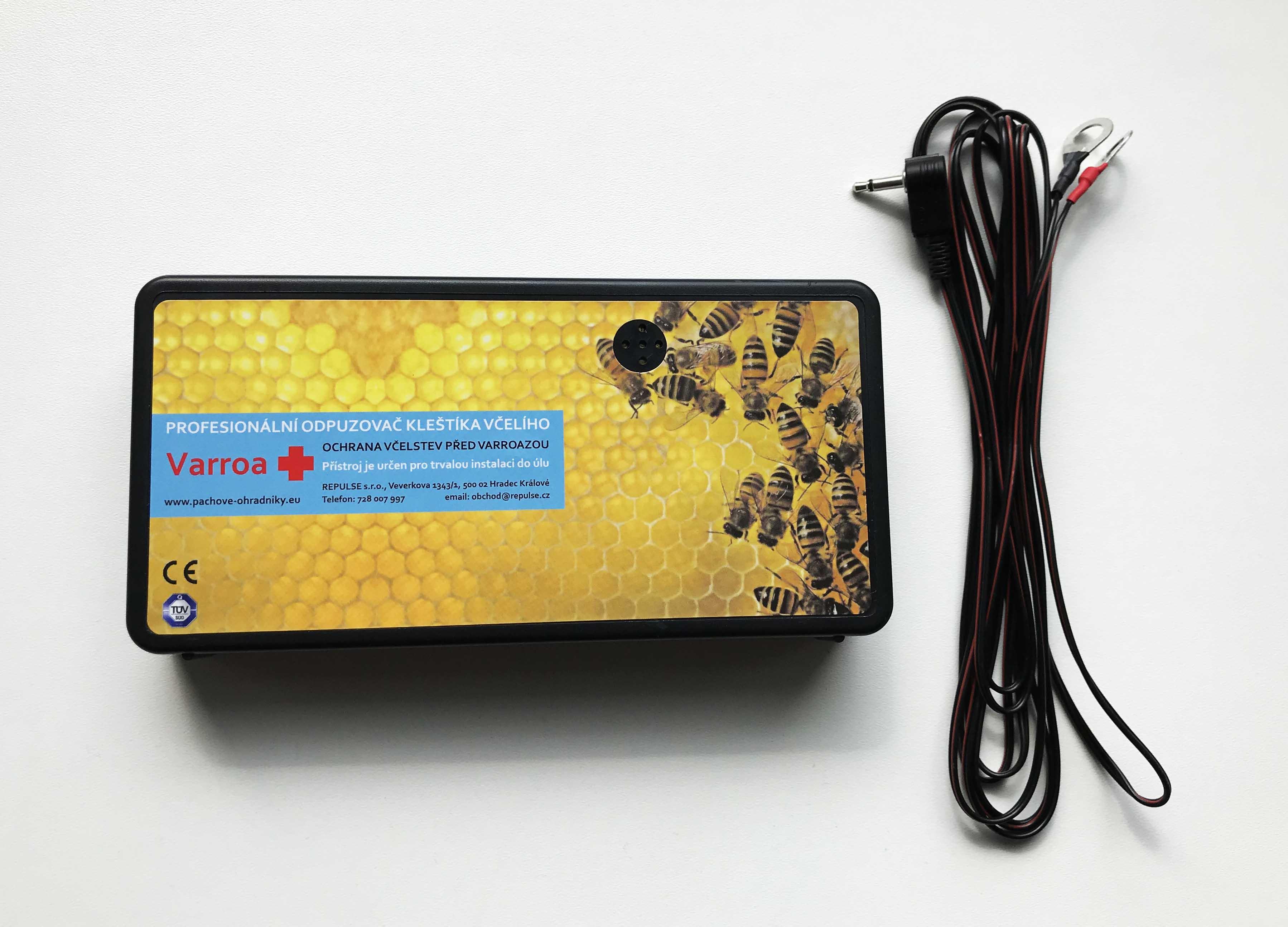 Ultrazvukový destruktor kleštíka - Ochrana úlu před varoázou