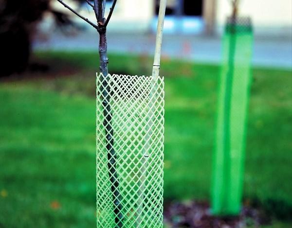 Plastová chránička proti okusu - výška 120 cm