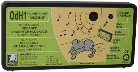 OdH1 slyšitelný - akusticko/ultrazvukový odpuzovač