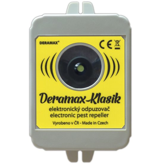 Deramax Klasik Ultrazvukový odpuzovač myší a kun