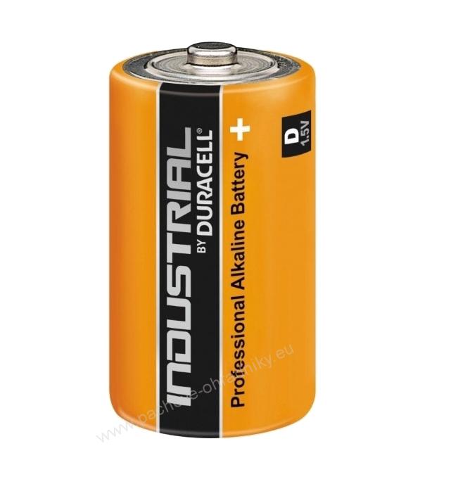 Baterie DURACELL Industrial D LR20, velké mono, 1,5V