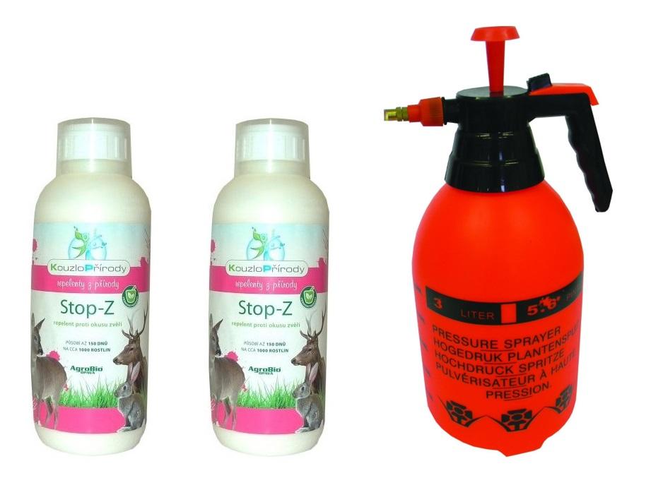 Sada proti okusu stromků a rostlin - postřik proti okusu