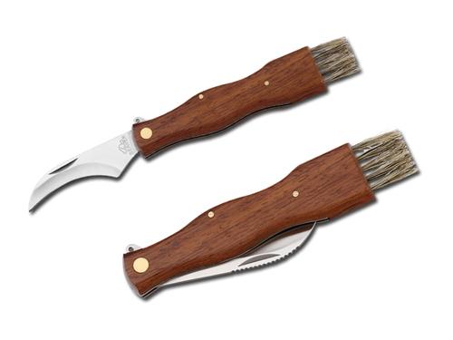 Profesionální houbařský nůž se štětcem