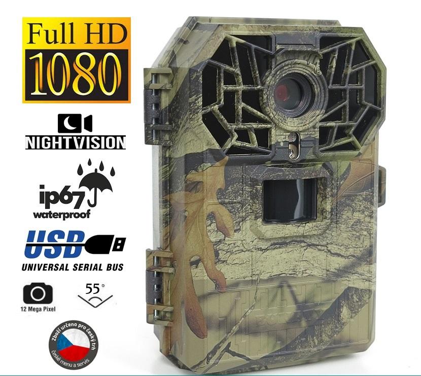Fotopast BUNATY FULL HD 16 MPX - Baterie a doprava ZDARMA