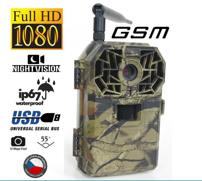 Fotopast BUNATY FULL HD GSM + Baterie a doprava ZDARMA