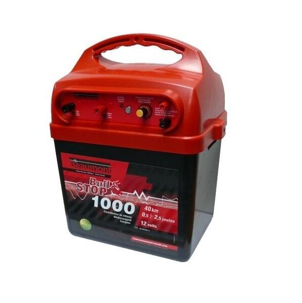 Elektrický ohradník bateriový BEAUMONT Bull Stop 1000 12V 4,2/2,5J