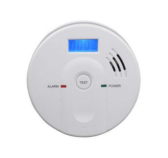 Detektor oxidu uhelnatého s alarmem, hlásič CO-603 včetně špičkové 9V baterie