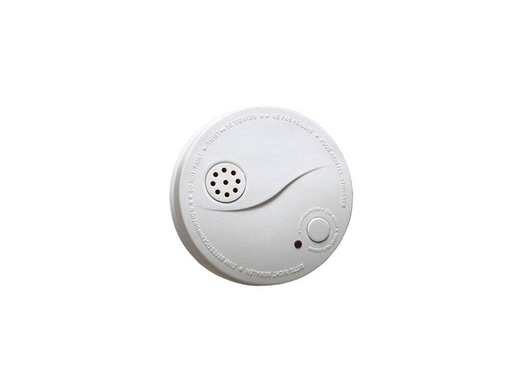 Požární hlásič a detektor kouře s alarmem a 9V alkalickou baterií DURACELL