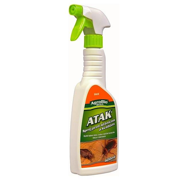 Postřik na hubení štěnic a švábů - 400 ml