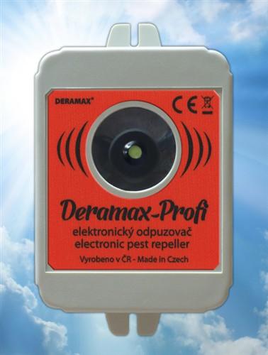 Deramax-Profi - ultrazvukový odpuzovač - plašič škůdců