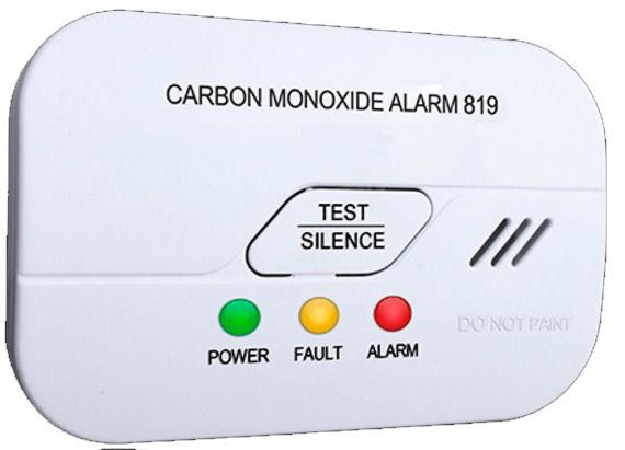 Detektor oxidu uhelnatého CO s alarmem