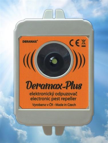 Deramax-Plus - ultrazvukový odpuzovač-plašič kun a myší
