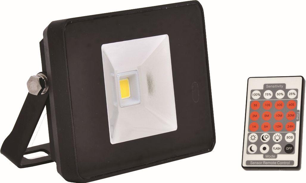 Reflektor LED 10W - 800 lm - na plašní kun s PIR čidlem a dálkovým ovládáním