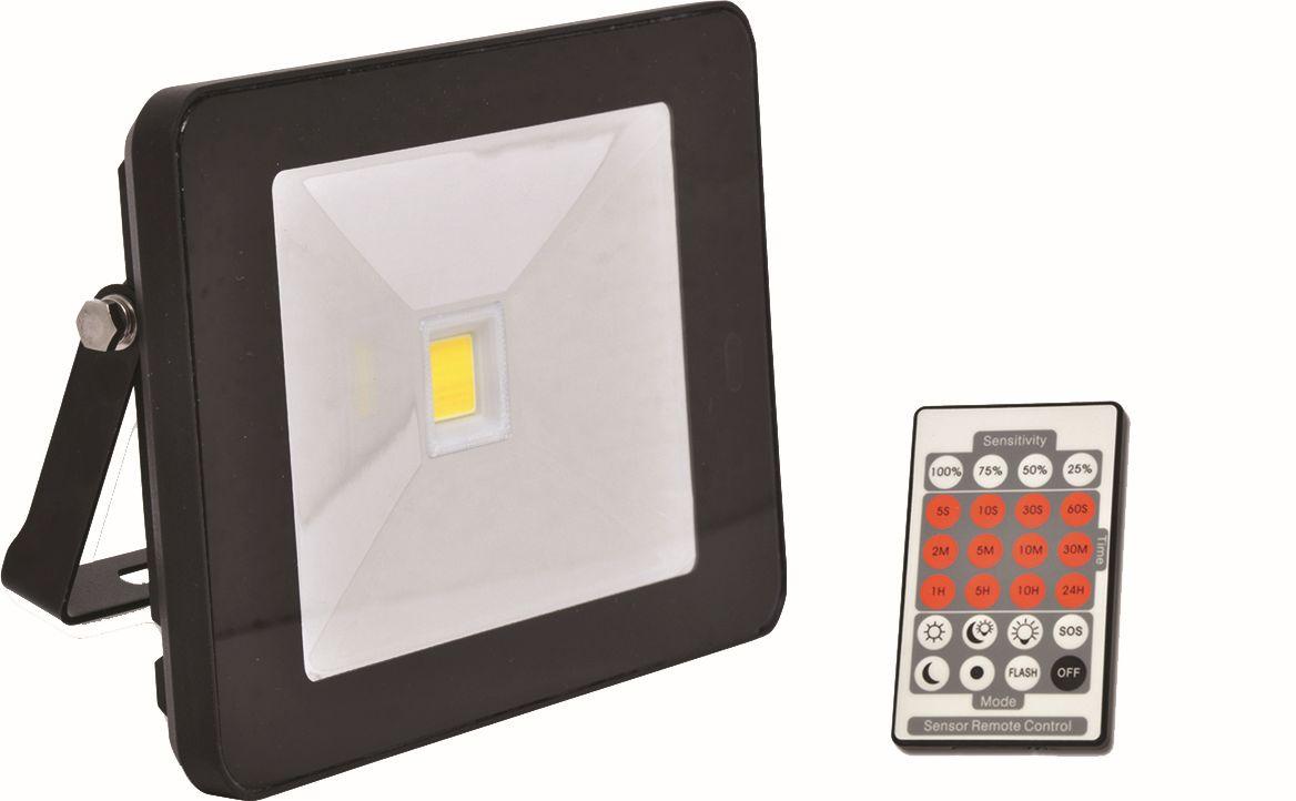 Reflektor LED 20W - 1600 lm - na plašení kun s PIR čidlem a dálkovým ovládáním