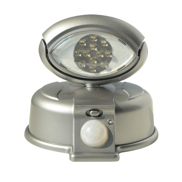 LED reflektor na plašení škůdců s pohybovým čidlem - 4 ks baterií ZDARMA