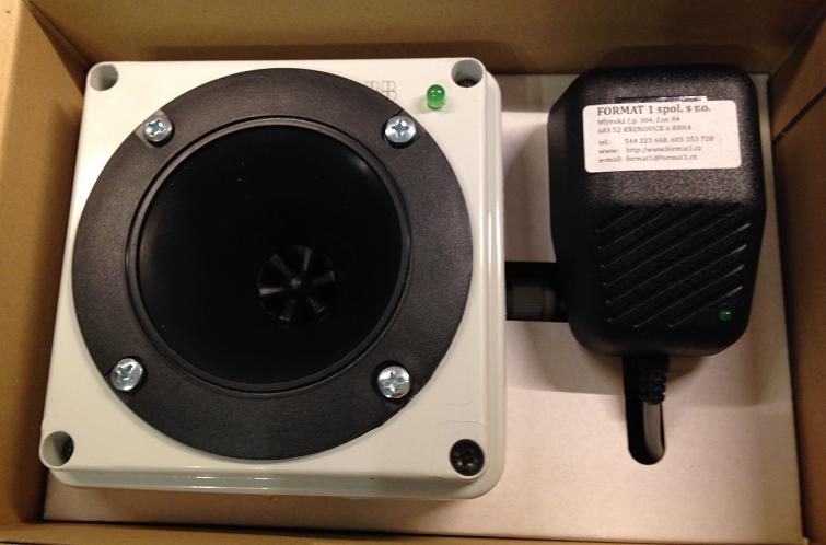 Ultrazvukový odpuzovač myší a kun OdH1 supermax