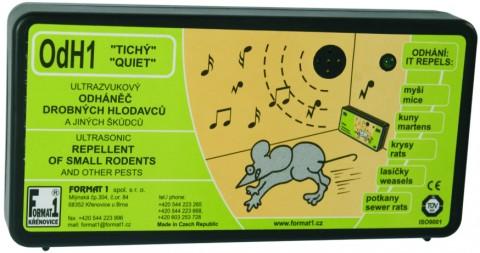 OdH1 tichý - ultrazvukový odpuzovač myší a kun