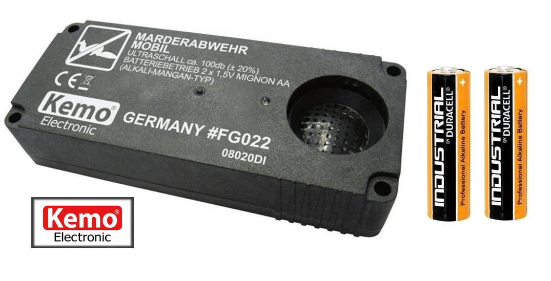 Odpuzovač kun a hlodavců - FG022 - včetně baterií.