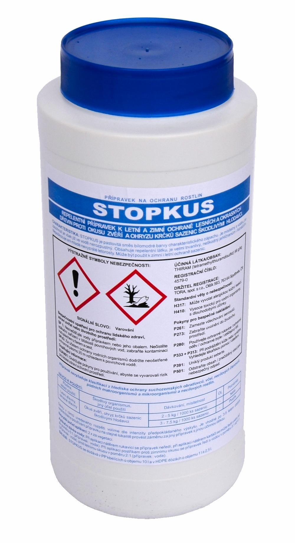 Přípravek proti okusu - STOPKUS 2,5 kg