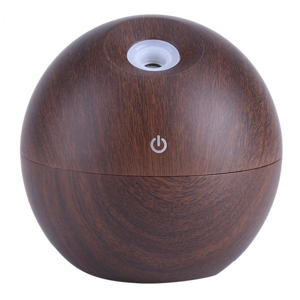 Aroma difuzér Y05 tmavé dřevo - ultrazvukový, USB