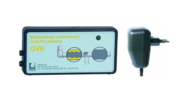 Odstraňovač vodního kamene OVK1 pro potrubí do 1 coulu