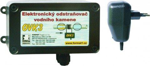 Odstraňovač vodního kamene OVK3 pro potrubí do 4 coulů