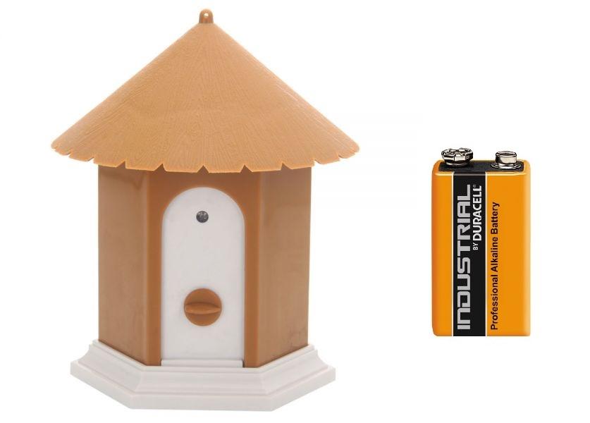 Protištěkací vodotěsná budka - baterie zdarma