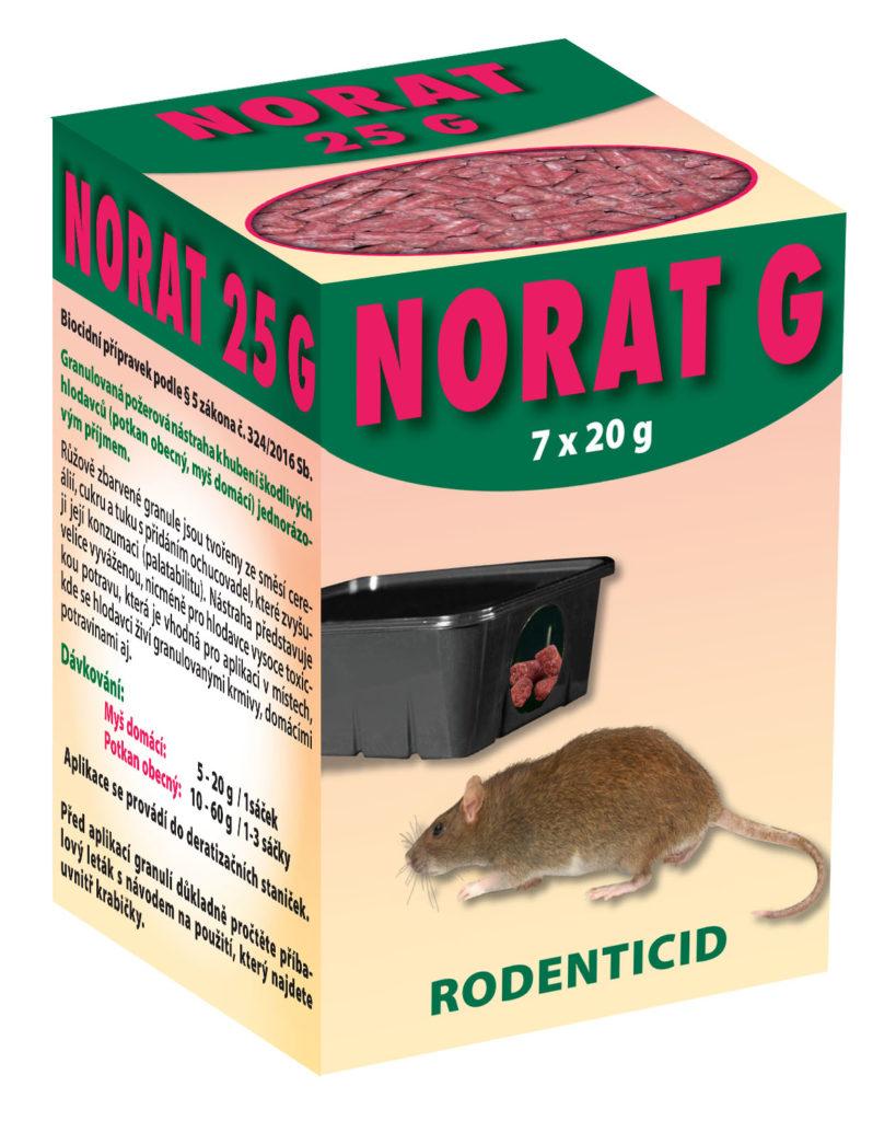 Jed na hlodavce - Norat G