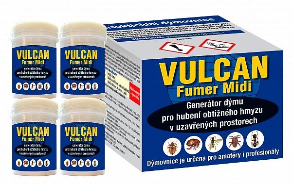 Vulcan Fumer Midi - 4 dýmovnice - pro hubení štěnic