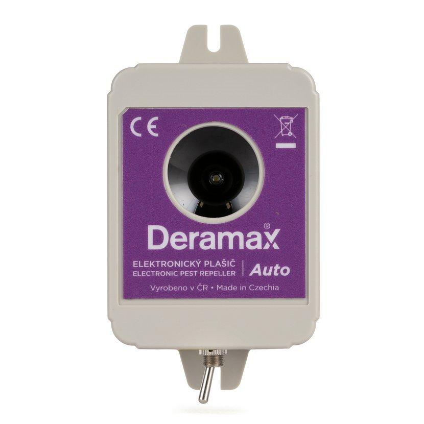 Deramax auto 2019 - pulzní ultrazvukový plašič
