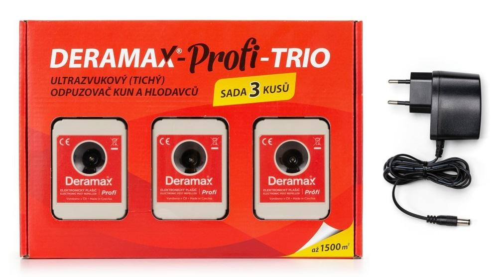 Deramax-Profi-Trio - Sada 3ks plašičů