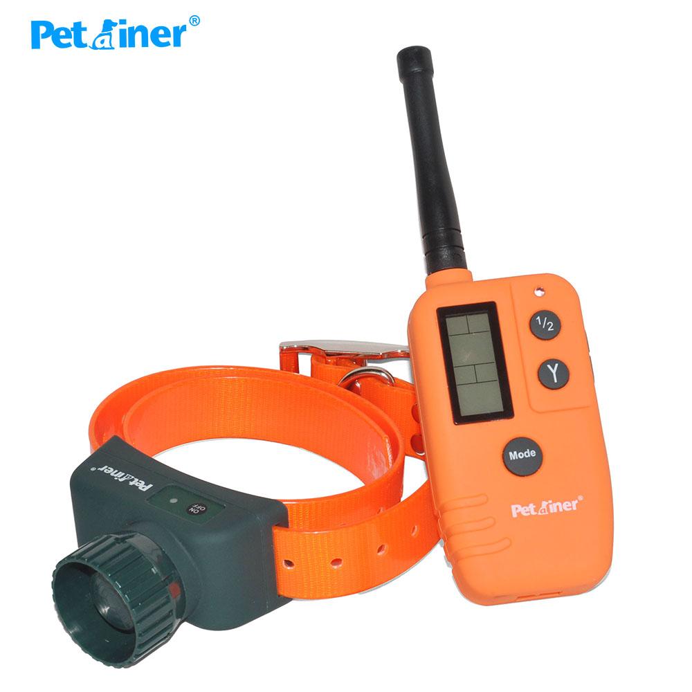 Petrainer PET910 - elektronický výcvikový obojek s lokalizací DOG TRAINER T07