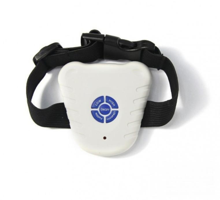 Ultrazvukový výcvikový obojek proti štěkání DOG-B01