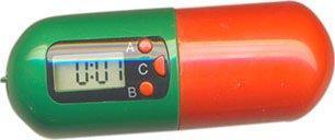 Digitální lékovka - Zásobník na léky s alarmem a časovačem